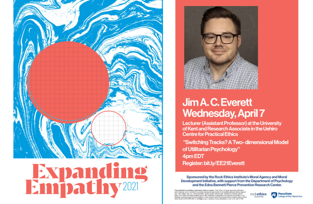 Image of Jim A.C.Everett Expanding Empathy poster