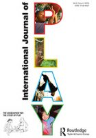 Image of the International Journal of Play cover