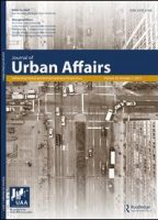 Image of the cover of the Journal of Urban Affairs