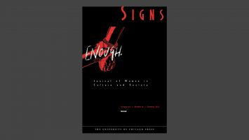 Image of Signs journal cover