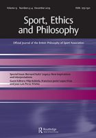 Image of Sports, Ethics, and Philosophy cover